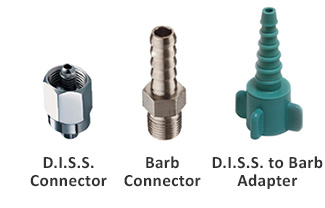 D.I.S.S. and Barb Connectors