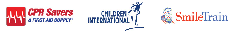 CPR Savers, Children International, & Smile Train