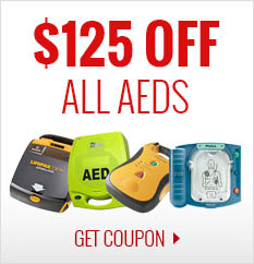 $125 Off Your Next AED Purchase!