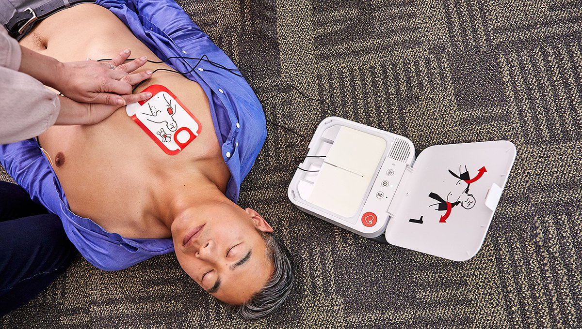 Need an AED? Check out our newest addition!