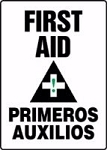 Bilingual First Aid Sign (Vinyl)