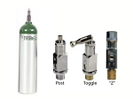 MD Medical Oxygen Cylinder with Valve