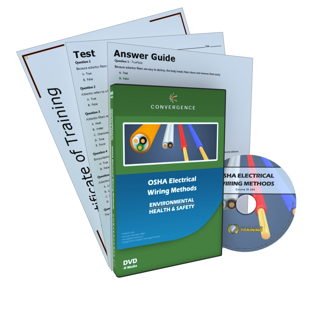 convergence training dvd osha electrical wiring methods rh cpr savers com Electrical Cabling Training Electrical Wiring Code