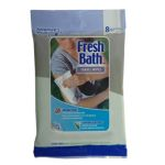 Fresh Bath Travel Wipes, Pkg./8
