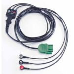 Lifepak 1000, 3-Wire ECG Cable