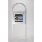 AED Floor Stand Cabinet with Alarm - 52