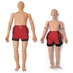 Water Rescue Manikin (Adolescent or Adult Model Options)
