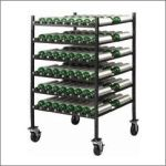 D/E Horizontal Stacker 42 Cylinder Cart