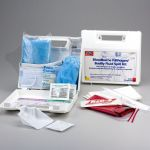 23-Piece Bloodborne Pathogen Bodily Fluid Spill Kit
