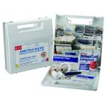 196-Piece (50 person) Bulk ANSI Kit (Plastic Case with Dividers)