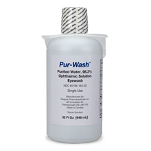 Eyewash (32 oz Plastic Bottle, Screw Top)