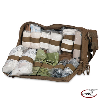 Mojo 324 Combat Life Saver Bag, Stocked