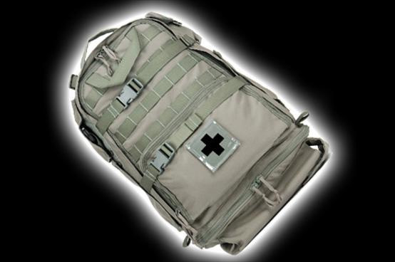 Mojo 415 Assault Medical Kit, Stocked