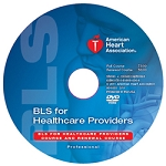 BLS for Healthcare Providers-DVD (English or Spanish)