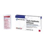 Triple Antibiotic Ointment Pack (.5 gm) - 10 per Single Unit Box