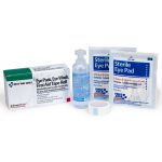 1 oz. Eyewash, Eyepads & Adhesive Strips, 1 set/box
