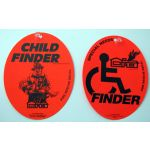 Special Needs Handicap Finder Decal