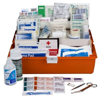 Response First Aid Kit - 269 Pieces Plastic Case