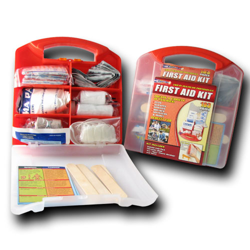 183 Piece OSHA First Aid Kit
