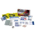 Auto Safety First Aid Kit - WSL Fundraiser (Clear Bi-Fold Vinyl Case)