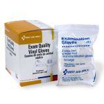 Exam Quality Vinyl Gloves (Large) - 10 per Dispenser Box