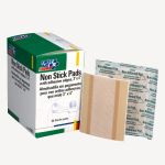 Non-Stick Pad with Adhesive Edges (3