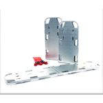 Backboard/Stretcher - Aluminum with Runners, Extra Length