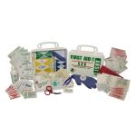 ANSI XXV Standard - 16-Piece (25 Person) Kit (Poly White)