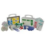 ANSI XS Economy - 10-Piece (10 Person) Kit (Poly White)