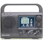 Digital Display AM/FM/SW1-SW4 Solar Power Radio w/LED Flashlight