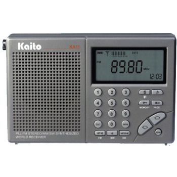Digital AM/FM Shortwave Radio/Clock/   KA11 made by Kaito   CPR Savers and  First Aid Supply
