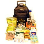 Roll and Go Survival Kit on Wheels - Two Persons