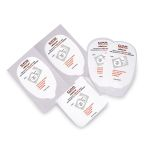 ElectroLast AED Trainer Foam Electrode Peel-Off Pads - Survivalink Style (Set of 5)