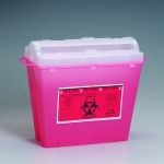 Sharps Container (5 quart, Red)