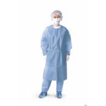 Polyethylene-Coated Polypropylene Isolation Gown (Case of 50)
