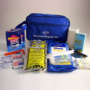 Deluxe Hygiene Kit Pp44a Made By Mayday Cpr Savers And First Aid Supply