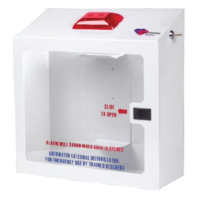 HeartStation AED Wall Cabinet (Recessed) | RC5000R Made By HeartStation |  CPR Savers And First Aid Supply