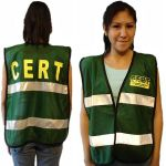 CERT Vest - Green with  Reflect Strip