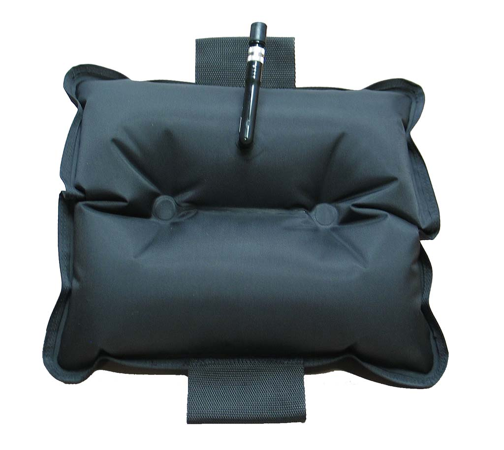 Inflatable Chest Pad - Black