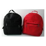 Adult Size Backpack - Black w/