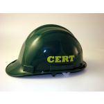 CERT Logo Hard Hat with Chin Strap