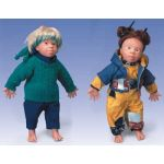 Down Syndrome Doll (Female, Asian, Lin)