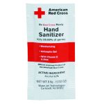 Hand Sanitizer Packet - 4 per Ziplock Bag