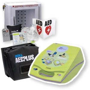Zoll AED Plus Package | ZOLL-PK made by CPR Savers | CPR Savers and First  Aid Supply