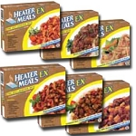 12 Assorted Hot Meals with Heater