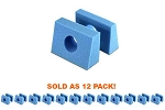 Disposable Pedi Head Blocks 12 PK