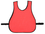 Large Plain Mesh Safety Vest Large
