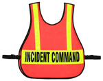 Command Vest For IC Triage / MC System With Reflective Strips