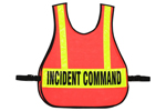 Large Command Vest Large IC Triage / MC Reflective Strips