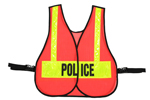 Front Closure Vest For Law Enforcment